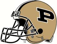 NCAA-Big 10-Purdue Boilermakers Helmet 4-Right side