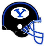 NCAA-BYU-Blackout Alt Helmet-White logo-732px