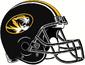 NCAA-SEC-Mizzou Tigers 2019 Black helmet w. facemask