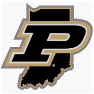 NCAA-Big 10-Purdue Boilermakers State logo
