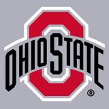 Ohio State Buckeyes-Grey background