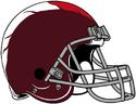 NFL-Helmet-WAS-1959-1964 Redskins Helmet