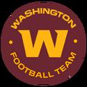 Washington Football Team-Burgundy full script team seal logo