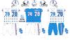 1975-80 Houston Oilers uniforms