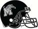 NCAA-AAC-Memphis Tigers black helmet