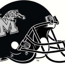 NCAA-AAC-Memphis Tigers black helmet.png