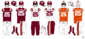 VT Hokies 2004-2015 Retro Jerseys