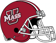 UMass 2012 Maroon Helmet