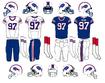 NFL-AFC-BUF-1975-1983 Bills Jerseys