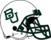 NCAA-Big 12-Baylor Bears white helmet 2