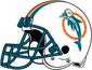 NFL-AFC-MIA-1980-1989 Helmet-Right side