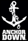 Anchor Down Black logo