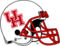 NCAA-AAC-Houston Cougars White Helmet