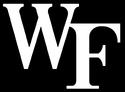 NCAA-ACC-Wake Forest Demon Deacons white black background logo