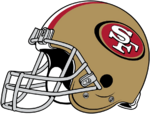 NFL-NFC-SF Helmet - Right Face