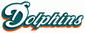 Dolphins script logo