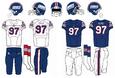 1976-1980 NY Giants uniforms