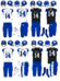 NCAA-SEC-UK Wildcats 2nd Alternate Uniforms