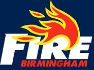 WLAF-Birmingham Fire Blue logo