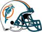 NFL-AFC-MIA-1980-1989 Helmet