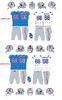 1966-69 Houston Oilers uniforms