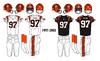 NFL-AFC-CIN-Bengals 1997-2003 Jerseys