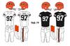 AFL-NFL-AFC-CIN-Bengals 1968-79 Jerseys
