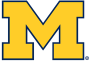 NCAA-Big 10-Michigan Wolverines primary logo.png