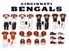 NFL-AFC-CIN-2004-2020 Cincinnati Bengals Jerseys