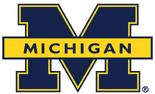 NCAA-Big 10-1996 Michigan Wolverines secondary logo