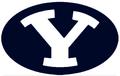 NCAA-BYU Cougars navy logo