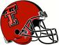 NCAA-Big 12-Texas Tech Red Raiders Red Helmet
