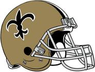 NFL-NFC-NO-1967-75 Saints helmet