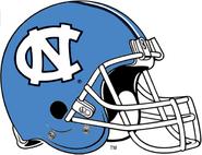 NCAA-ACC-UNC Tarheels Baby Blue Helmet