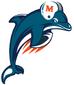 NFL-AFC-MIA-1997-2012 alternate dolphin logo