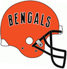 NFL-AFC-CIN-1980 Bengals helmet-Black facemask