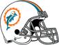 NFL-AFC-Helmet MIA-1966-1973