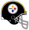 Steelers Retro Black Helmet Grey Facemask