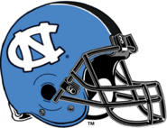 NCAA-ACC-UNC Tar Heels-Carolina Blue helmet-Navy facemask