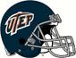 NCAA-C-USA-UTEP Miners Blue Alt Helmet 2