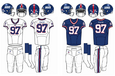 NFL-NFCE-NYG-1985-99 Giants Jerseys