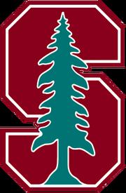 NCAA-Pac 12-Stanford Cardinal alt helmet logo-green tree.png