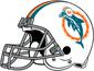 NFL-AFC-Helmet MIA 1974-1979 Helmet-Right side