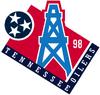 Tennessee Oilers 1998 Season logo