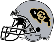 NCAA-Colorado Buffaloes Silver Helmet-Right side