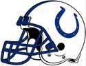 NFL-AFC-IND Colts Helmet-Blue Facemask-Right side