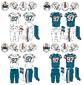 Miami Dolphins Alternate Retro Throwback uniforms