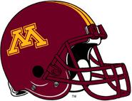 NCAA-Big 10-Minnesota Golden Gophers Helmet