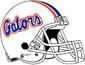 NCAA-SEC-Florida Gators White Helmet