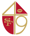 NFL-NFC-SF49ers Shield logo 1965-72
